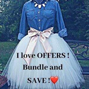 Bundle and save ❤️❤️❤️❤️❤️